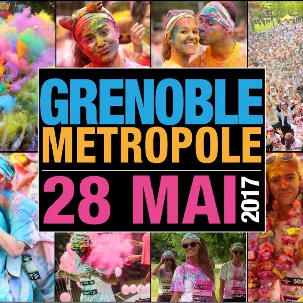 Course des couleurs Grenoble Run Bow Colors